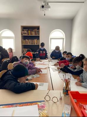 Bildungsarbeit Cojocna – Foto J.Faigen